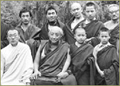 Rinpoche with Dilgo Khyentse Rinpoche an other tulkus