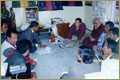 Rinpoche with lay community in Nepal